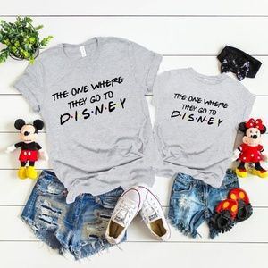 The One Where They Go to Disney T-shirt